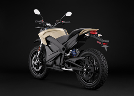 2019 Zero DS ZF14.4 Electric Motorcycle: Left Angle, Rear