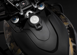 2019 Zero Motorcycles DSR Black Forest Edition: Charge Tank