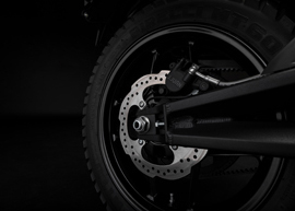 2019 Zero DS Electric Motorcycle: Rear Wheel