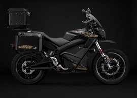 2019 Zero Motorcycles DSR Black Forest Edition: Profile Right