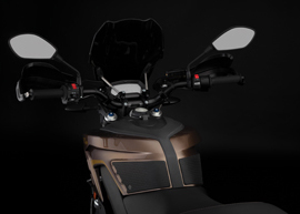 2019 Zero DSR Electric Motorcycle: Windshield