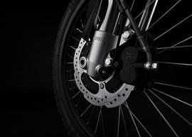 2019 Zero FX Electric Motorcycle: Front Brake