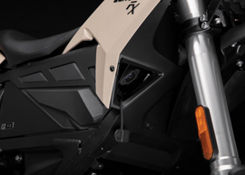 2019 Zero FX Electric Motorcycle: Charge Port