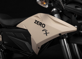 2019 Zero FX Electric Motorcycle: Tank Badge