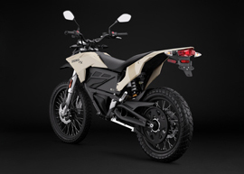 2019 Zero FX Electric Motorcycle: Angle Left