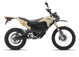 2019 Zero FX Electric Motorcycle: Profile Right, White Background
