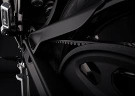 2019 Zero FXS Electric Motorcycle: Belt