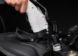 2019 Zero DS Electric Motorcycle: Charge Tank