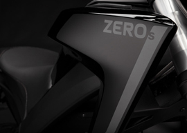 2019 Zero S Electric Motorcycle: Tank