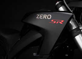 2019 Zero SR Electric Motorcycle: Tank