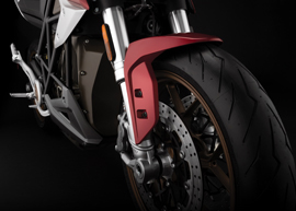 2020 Zero SR/F Electric Motorcycle: Front Fender