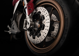 2020 Zero SR/F Electric Motorcycle: Front Wheel