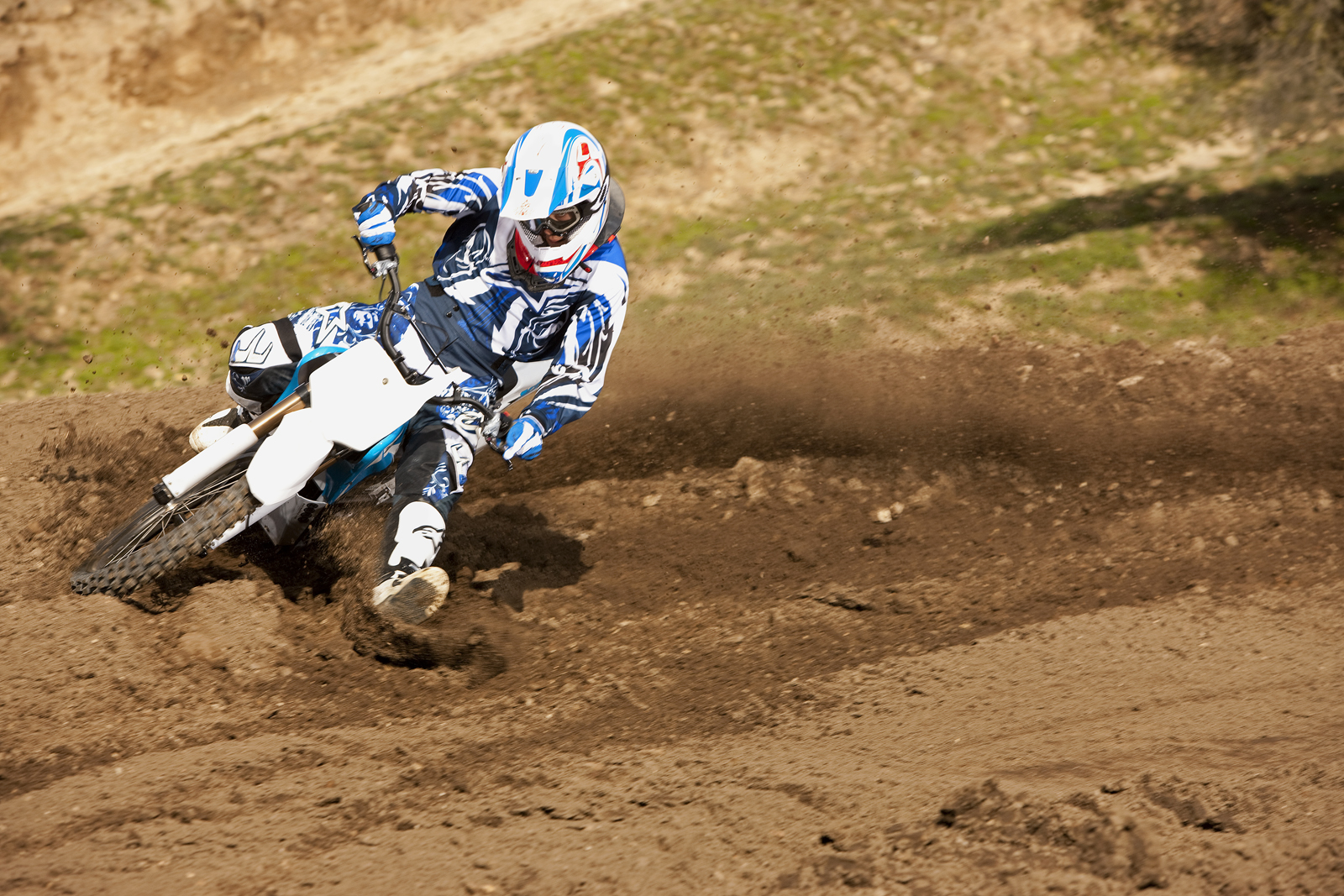 '.2010 Zero MX Electric Motorcycle: Zaca Station - Low Burm Foot Down.'