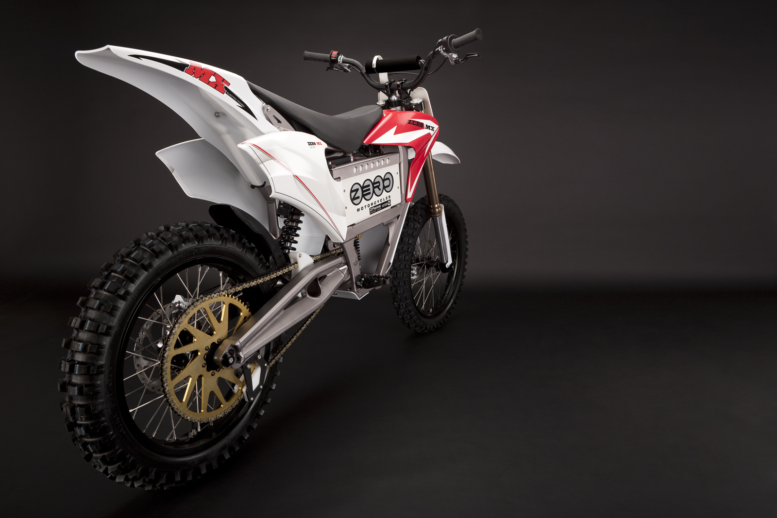 '.2010 Zero MX Electric Motorcycle: Drivetrain / Chain / Sprocket.'
