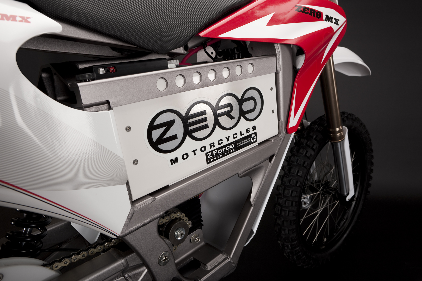 '.2010 Zero MX Electric Motorcycle: Battery 2.'