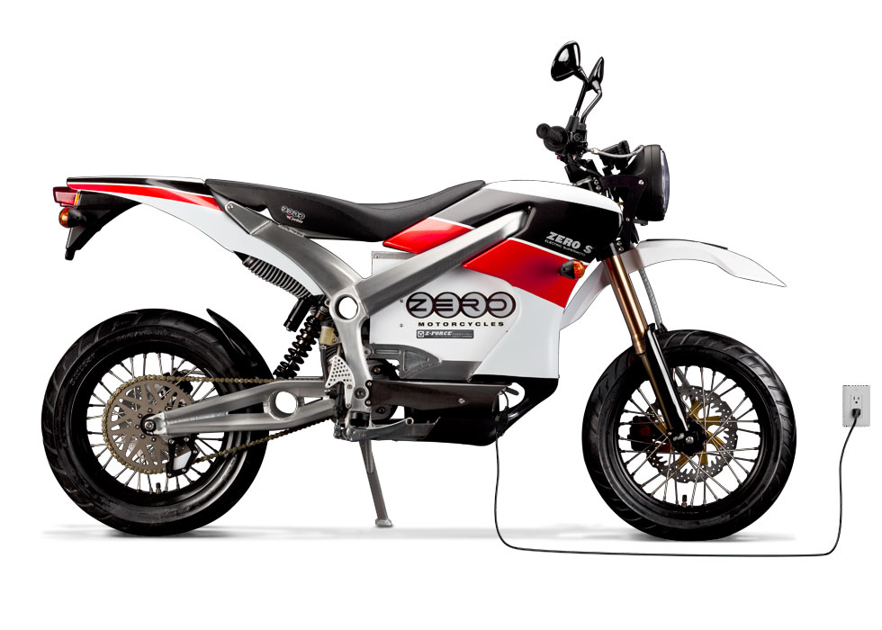'.2010 Zero S Electric Motorcycle: Plugged In.'