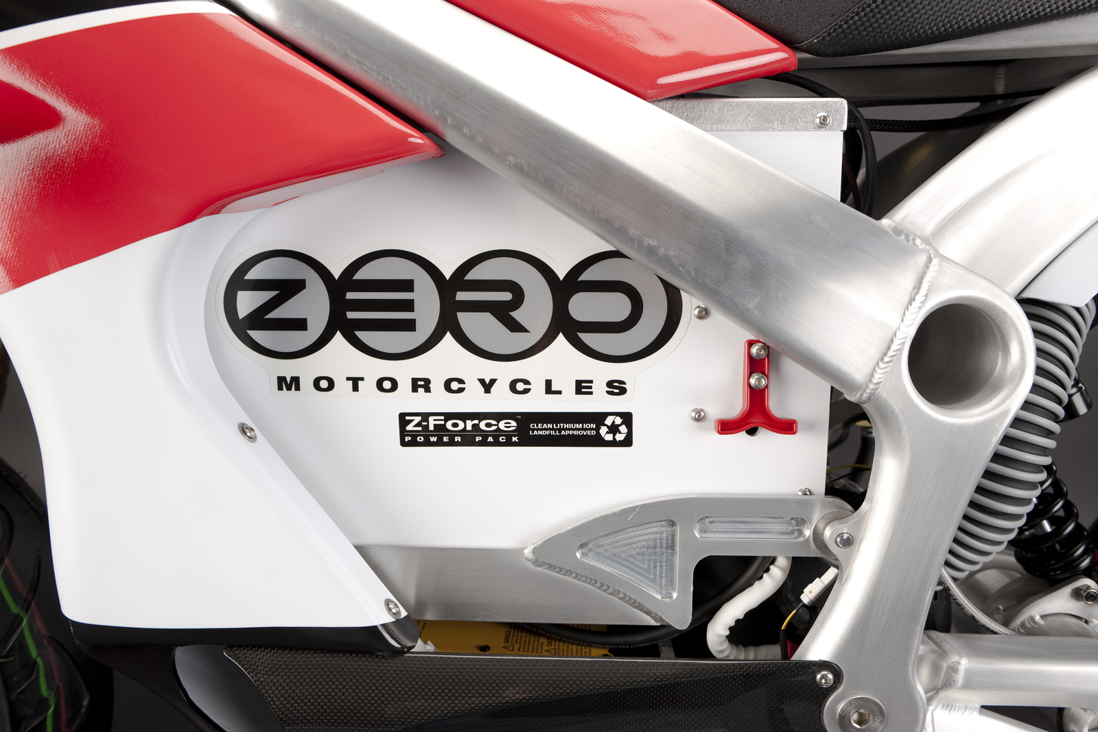 '.2010 Zero S Electric Motorcycle: Battery.'