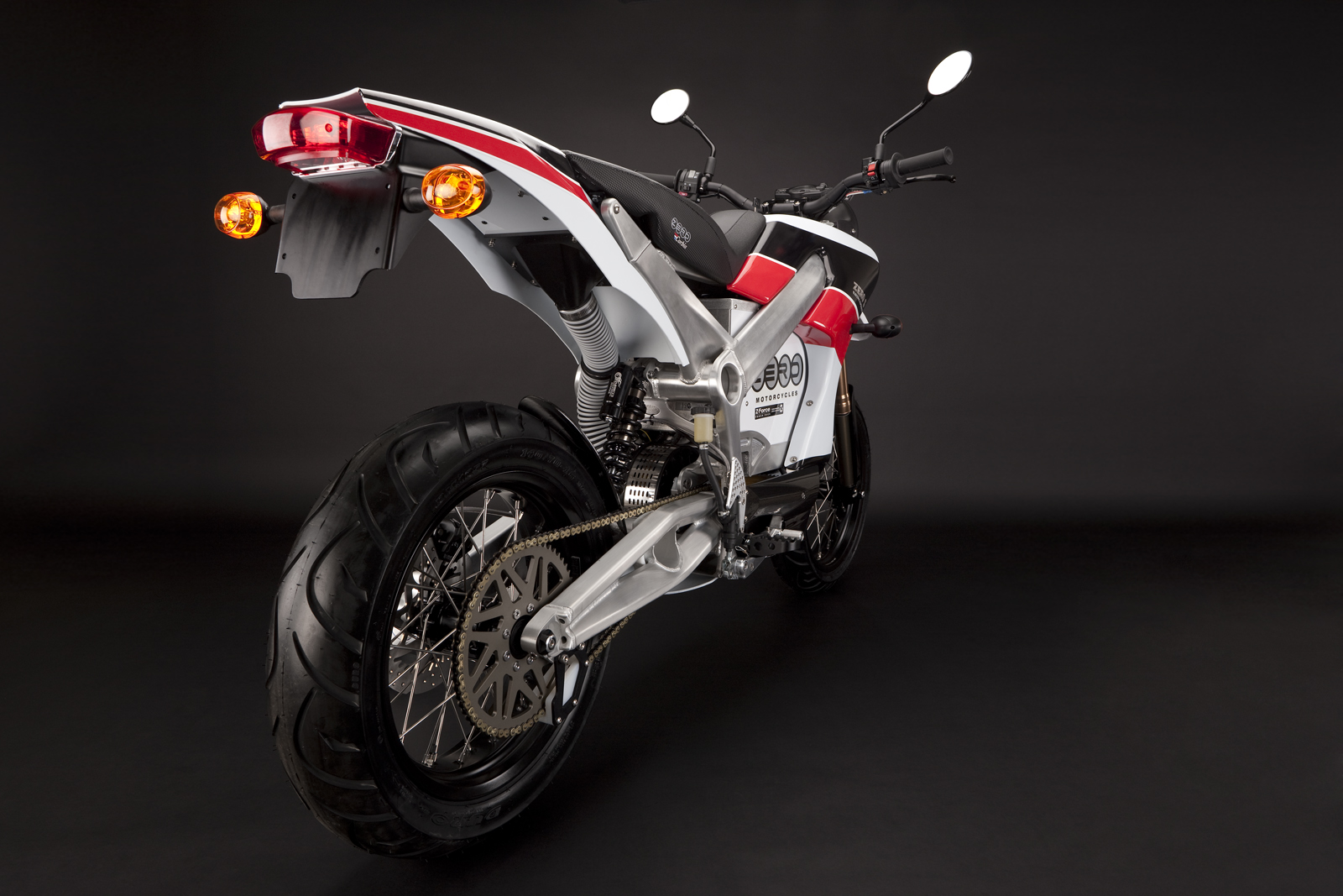 '.2010 Zero S Electric Motorcycle: Drivetrain/Chain/Sprocket.'