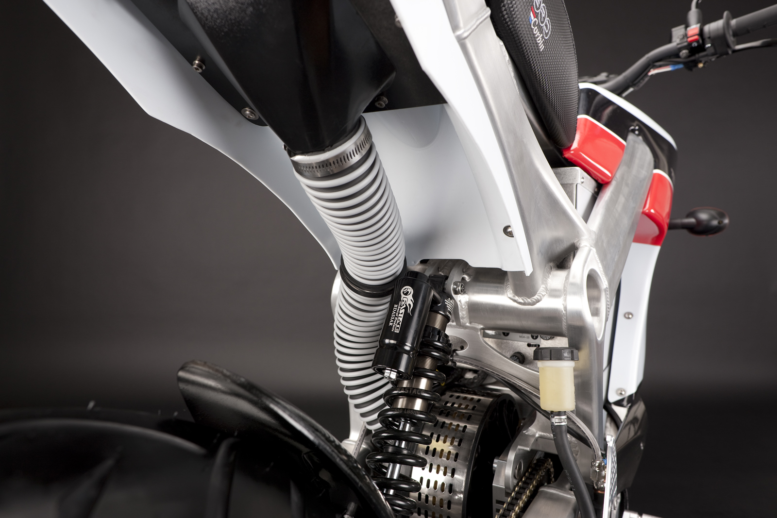 '.2010 Zero S Electric Motorcycle: Air Induction.'