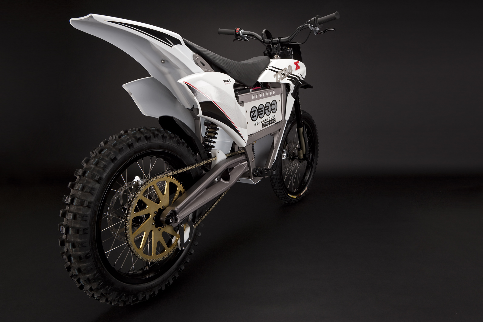 '.2010 Zero X Electric Motorcycle: Drivetrain / Chain / Sprocket.'