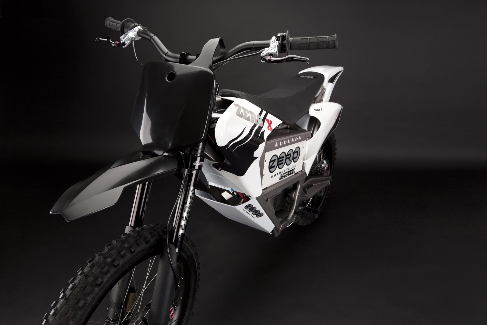 '.2010 Zero X Electric Motorcycle: Rear Shock.'