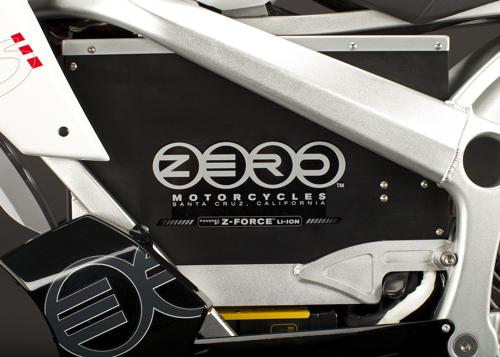 '.2011 Zero DS Electric Motorcycle: Battery.'