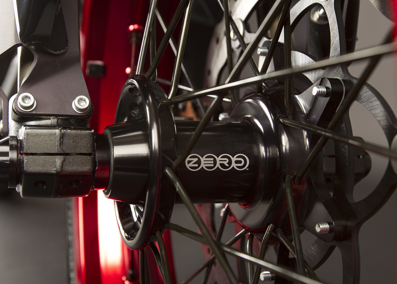 '.2011 Zero DS Electric Motorcycle: Front Tire.'