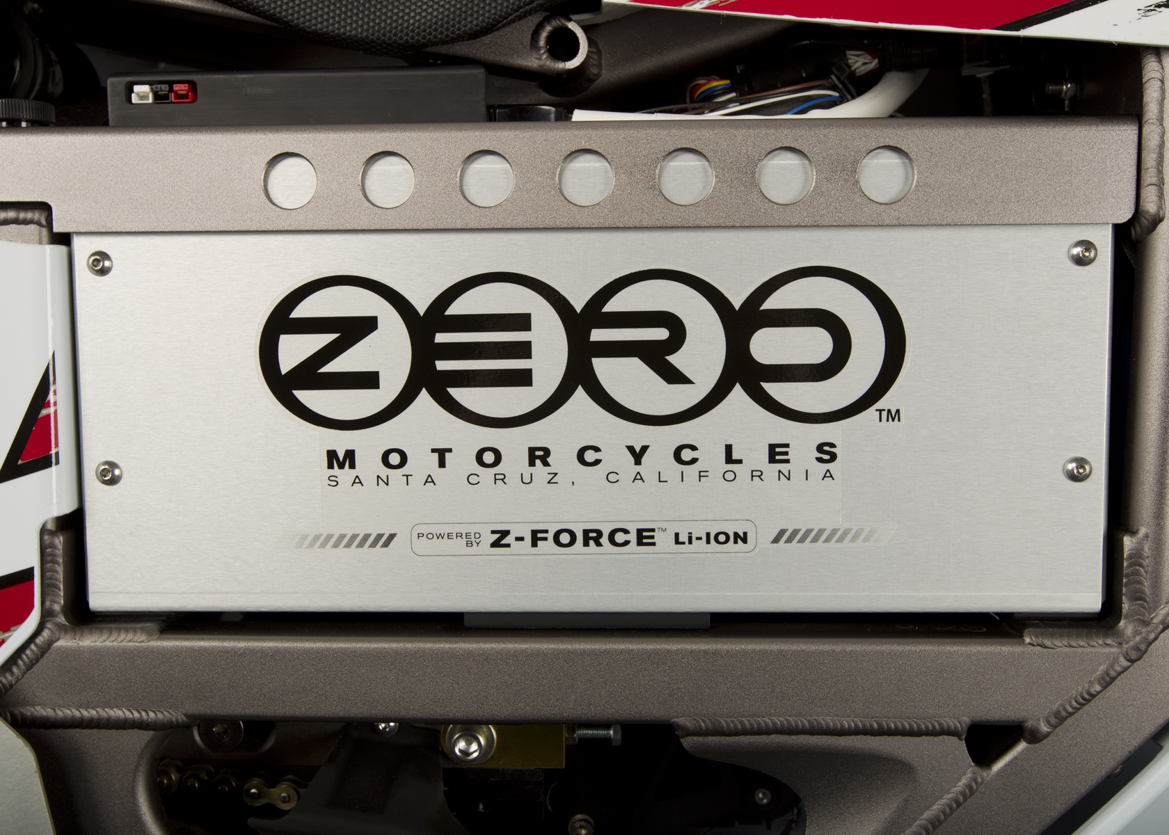 2011 Zero MX Electric Motorcycle: Battery