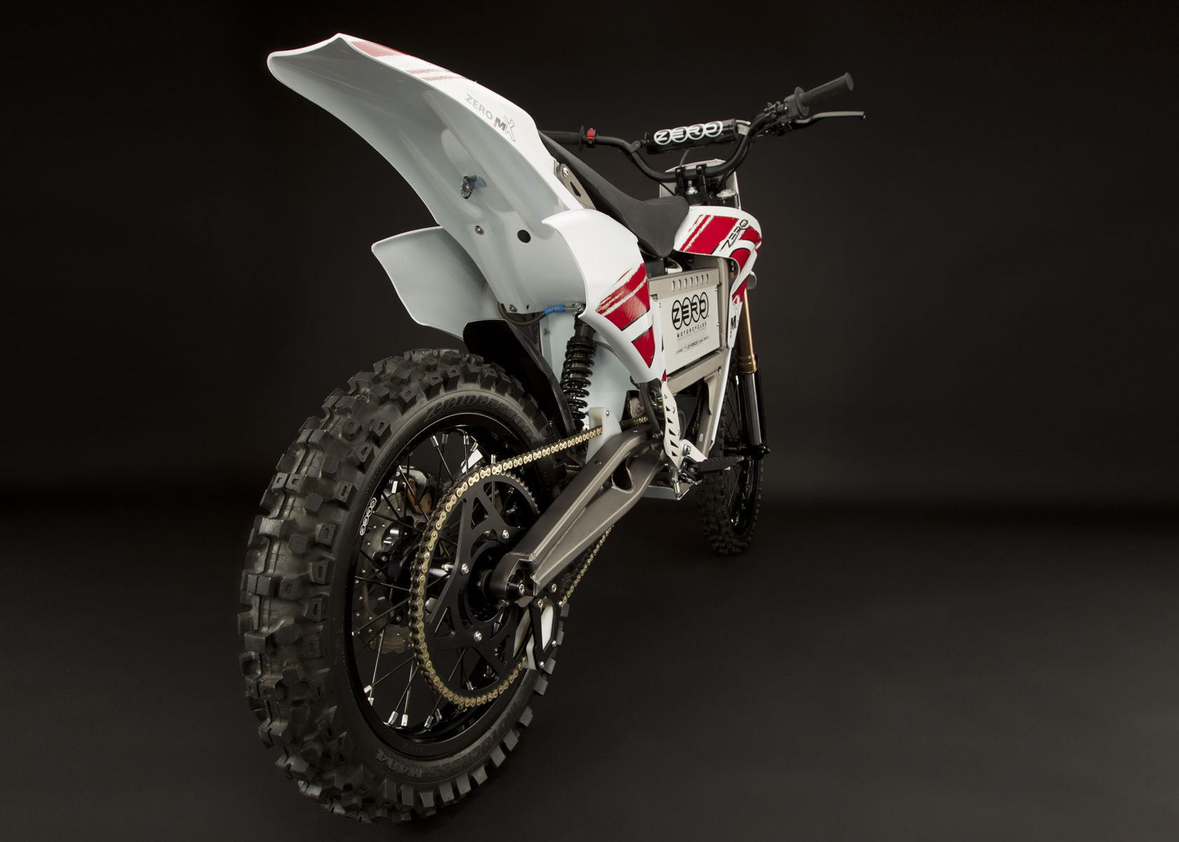 '.2011 Zero MX Electric Motorcycle: Drivetrain / Chain / Sprocket.'