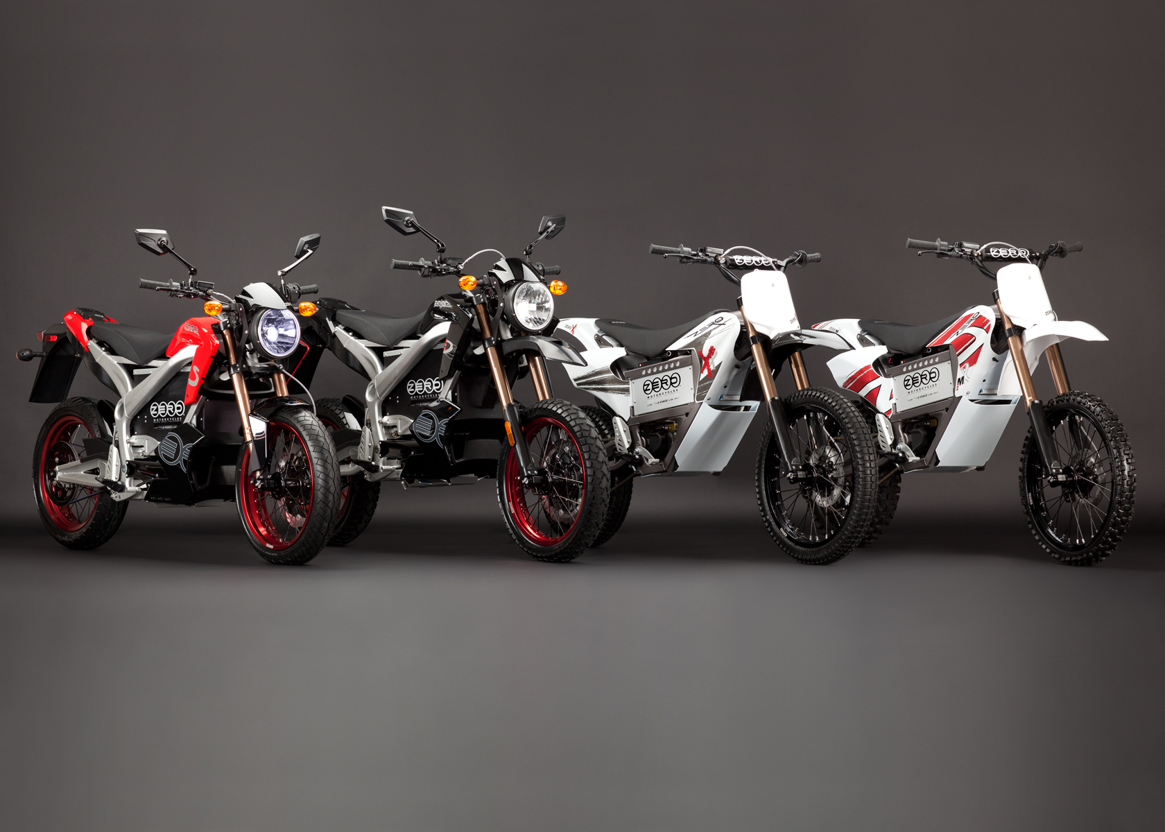 2011 Zero Motorcycles: Product Line 1