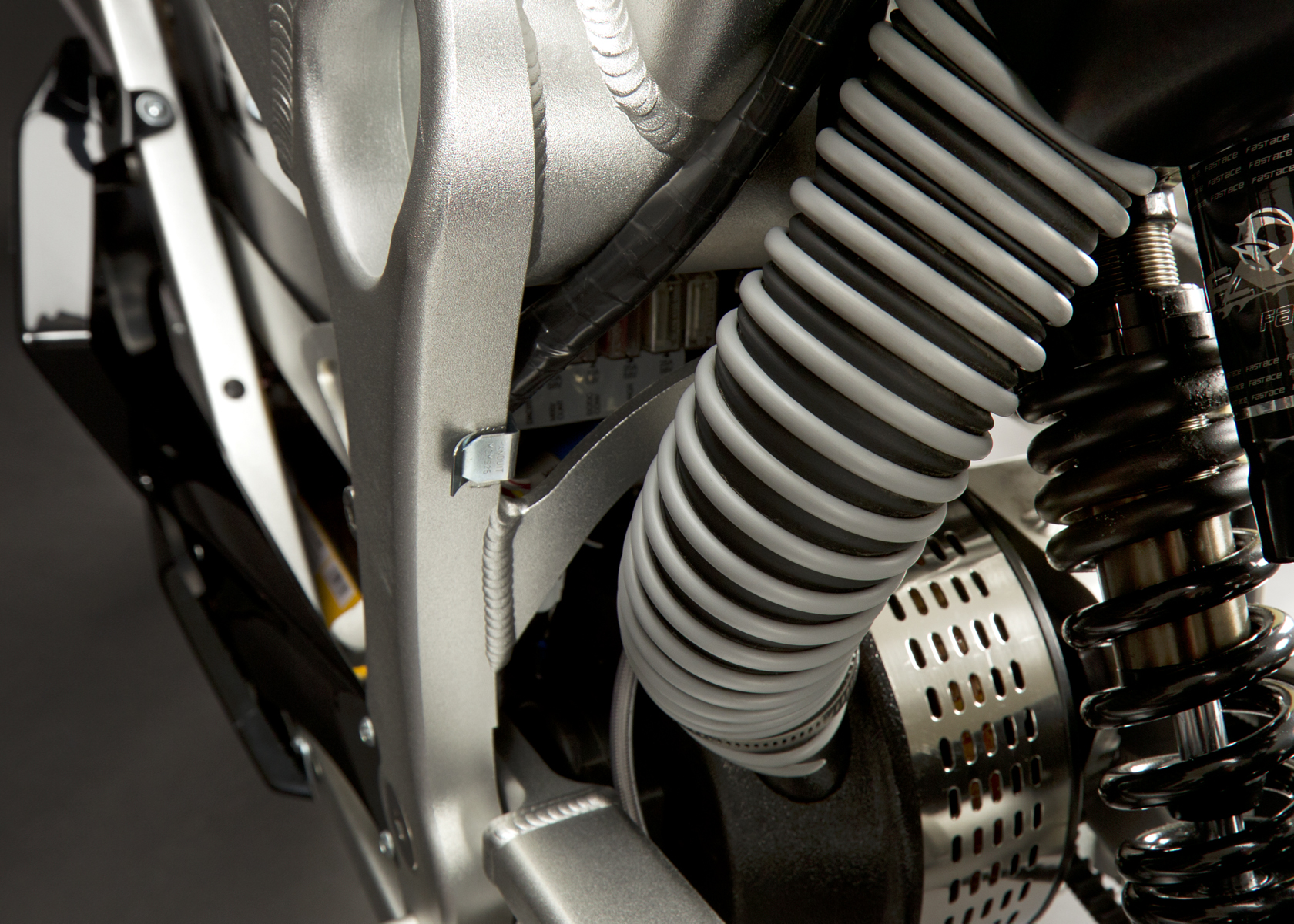 '.2011 Zero S Electric Motorcycle: Air Induction.'