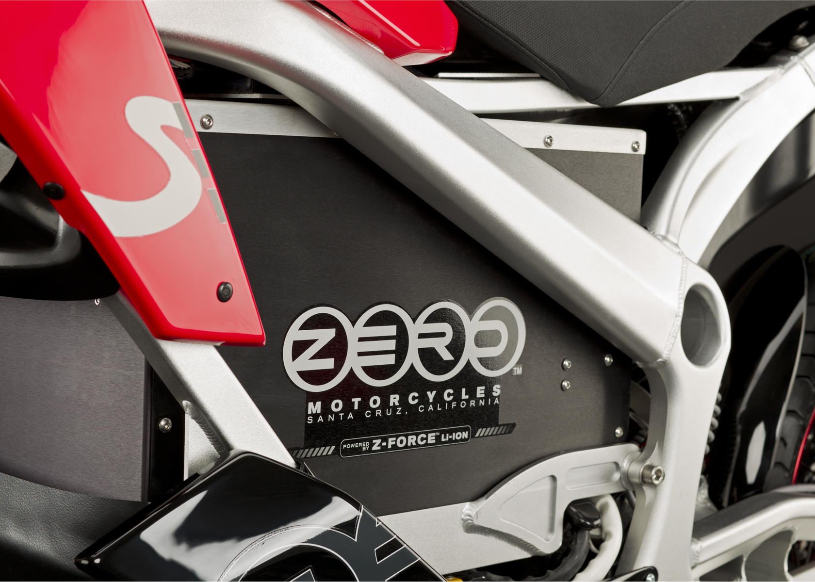 '.2011 Zero S Electric Motorcycle: Battery.'