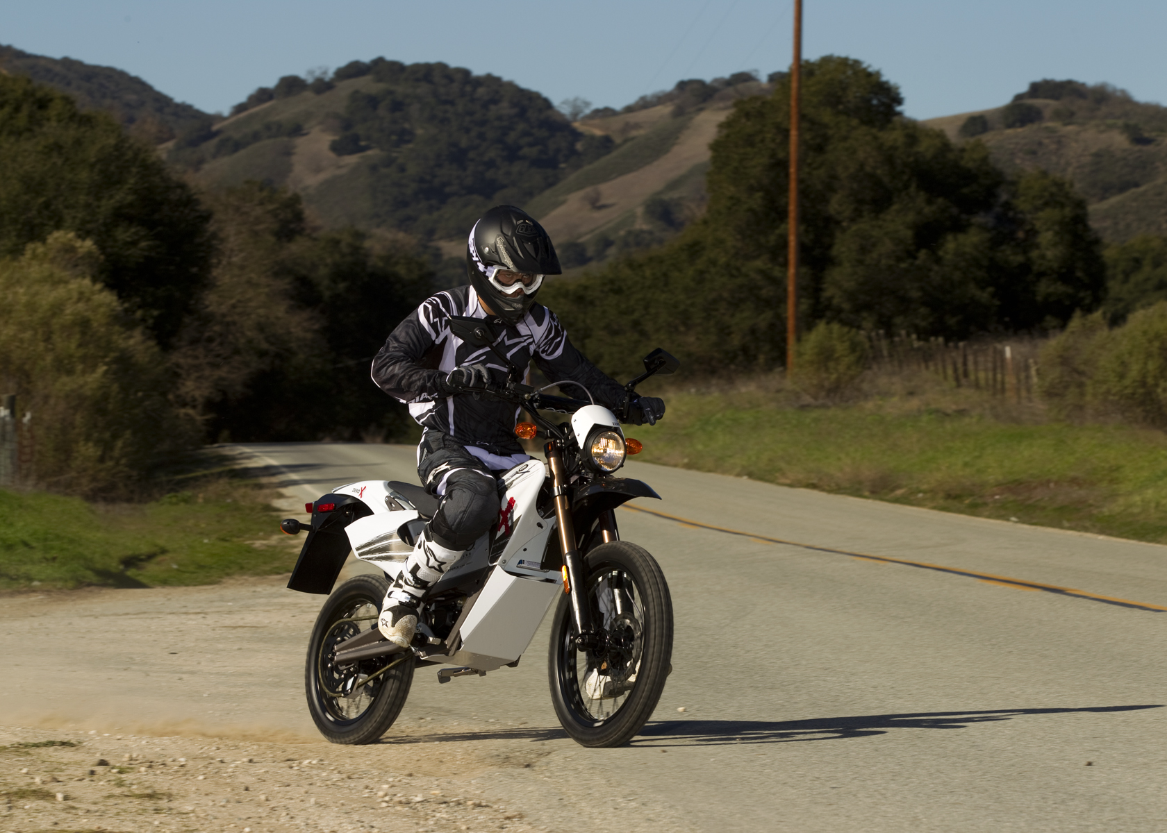 '.2011 Zero X Electric Motorcycle: Back to the Highway.'