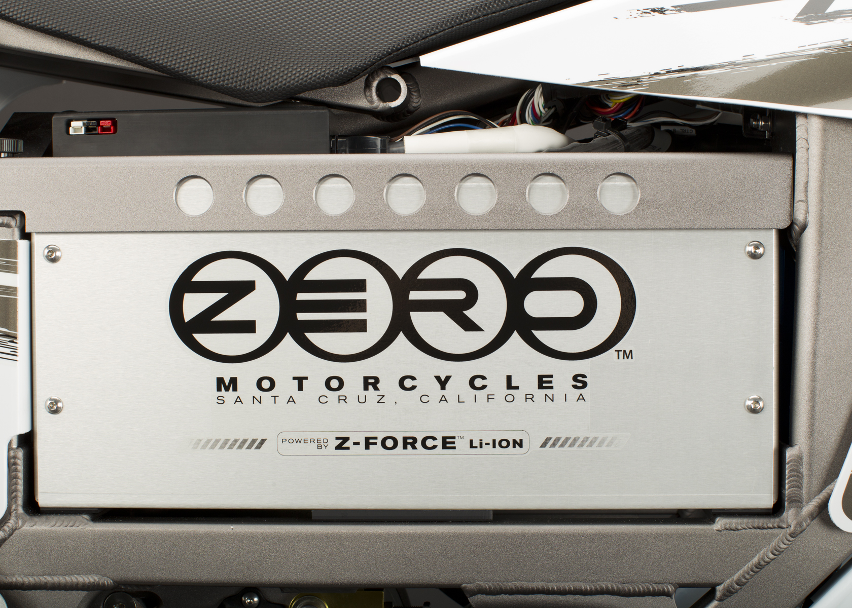 '.2011 Zero X Electric Motorcycle: Battery.'