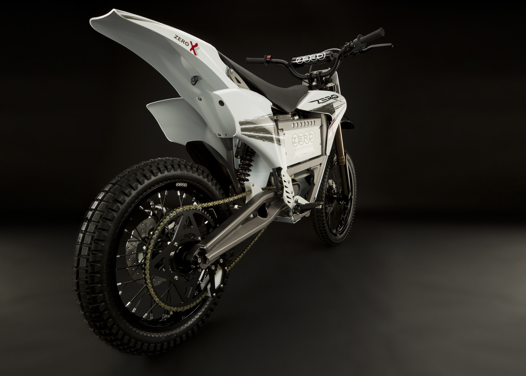 '.2011 Zero X Electric Motorcycle: Drivetrain / Chain / Sprocket.'