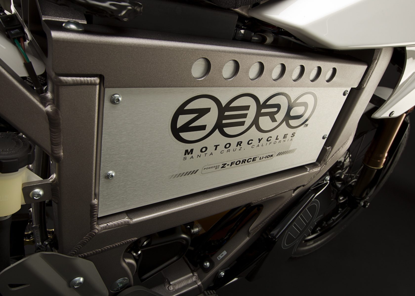 '.2011 Zero XU Electric Motorcycle: Battery.'
