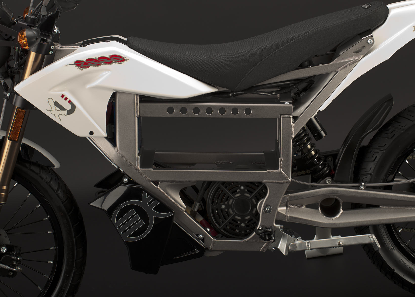 '.2011 Zero XU Electric Motorcycle: No Battery.'