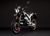 2011 Zero DS Electric Motorcycle: Black Angle Left