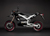 2011 Zero DS Electric Motorcycle: Black Profile Left