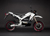 2011 Zero DS Electric Motorcycle: White Profile Right