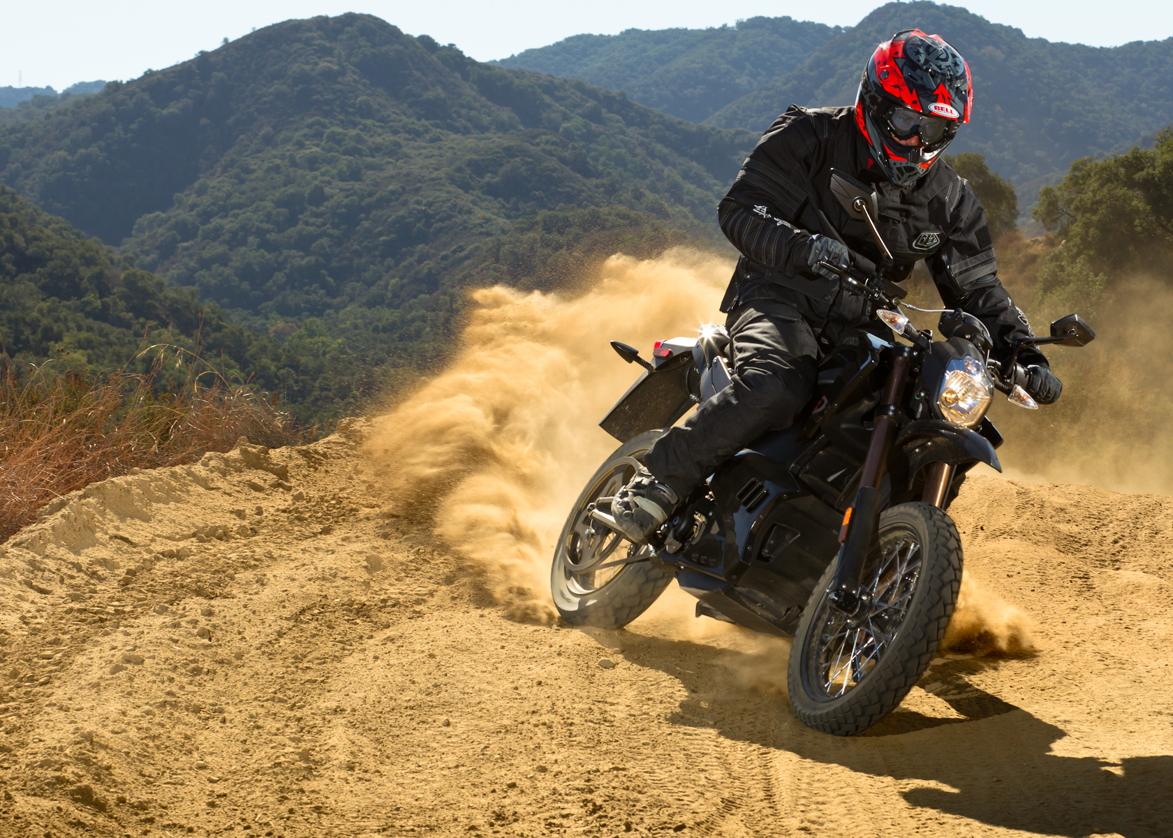 2012 Zero DS Electric Motorcycle: On a Dirt Road