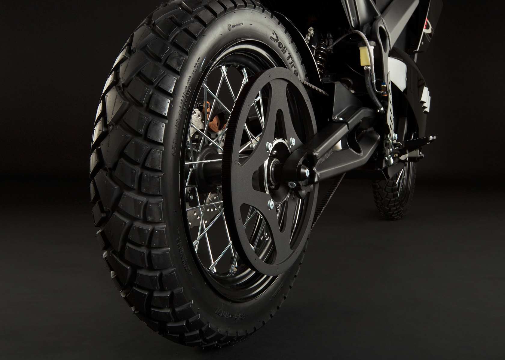 '.2012 Zero DS Electric Motorcycle: Drivetrain / Chain / Sprocket.'