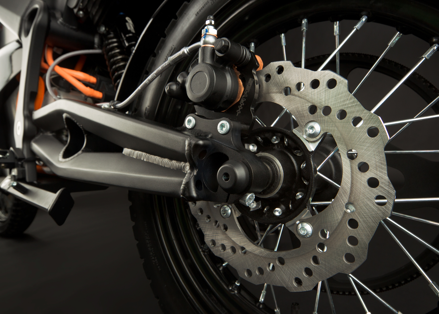 '.2012 Zero DS Electric Motorcycle: Swingarm.'