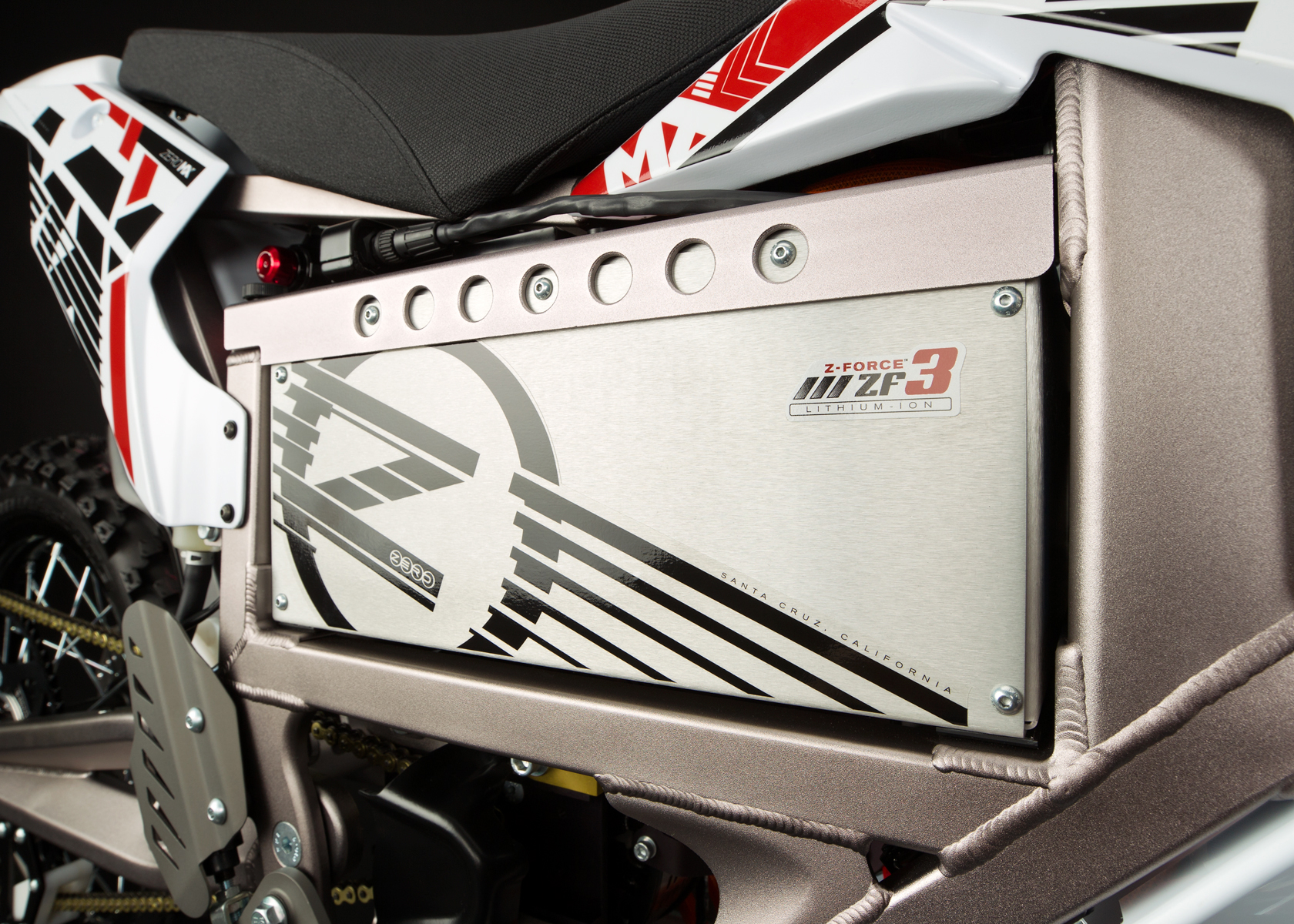 '.2012 Zero MX Electric Motorcycle: Battery.'
