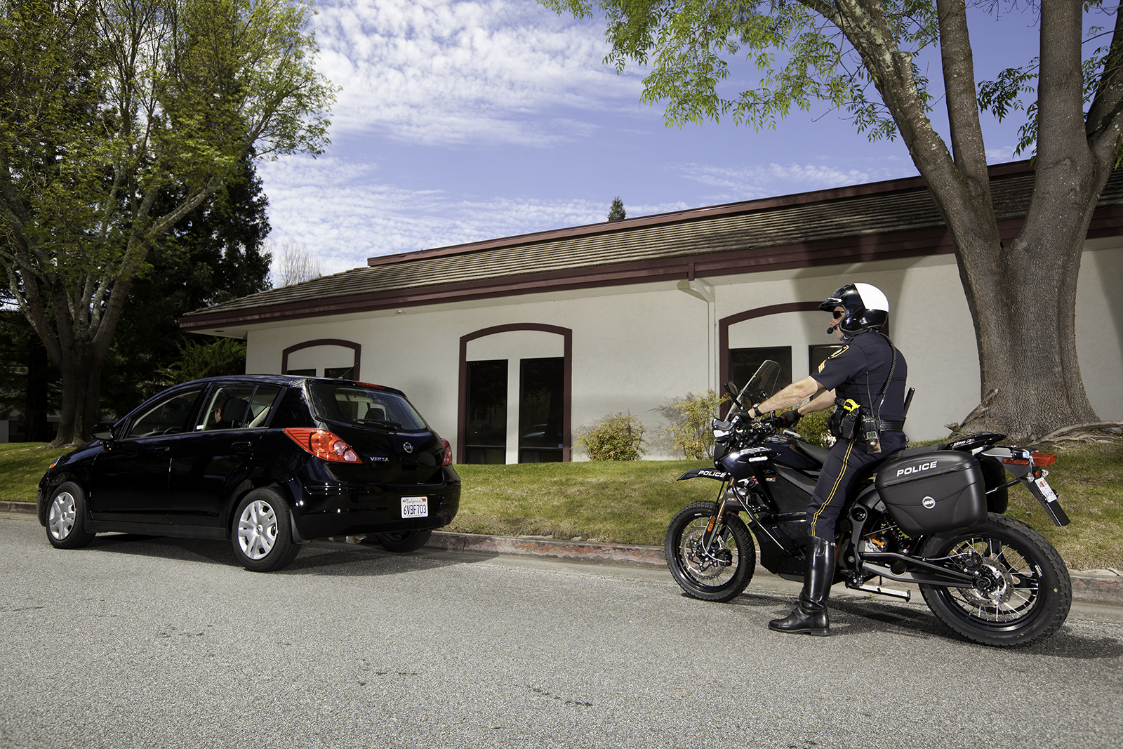 2012 Zero DS Police Motorcycles: Scotts Valley 1