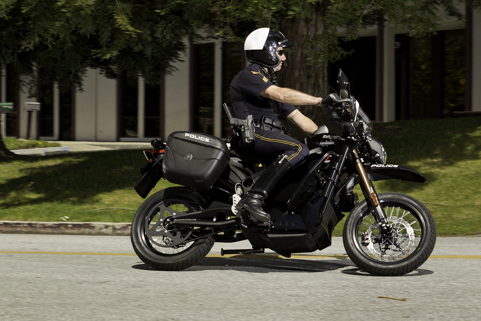 2012 Zero DS Police Motorcycles: Scotts Valley 2