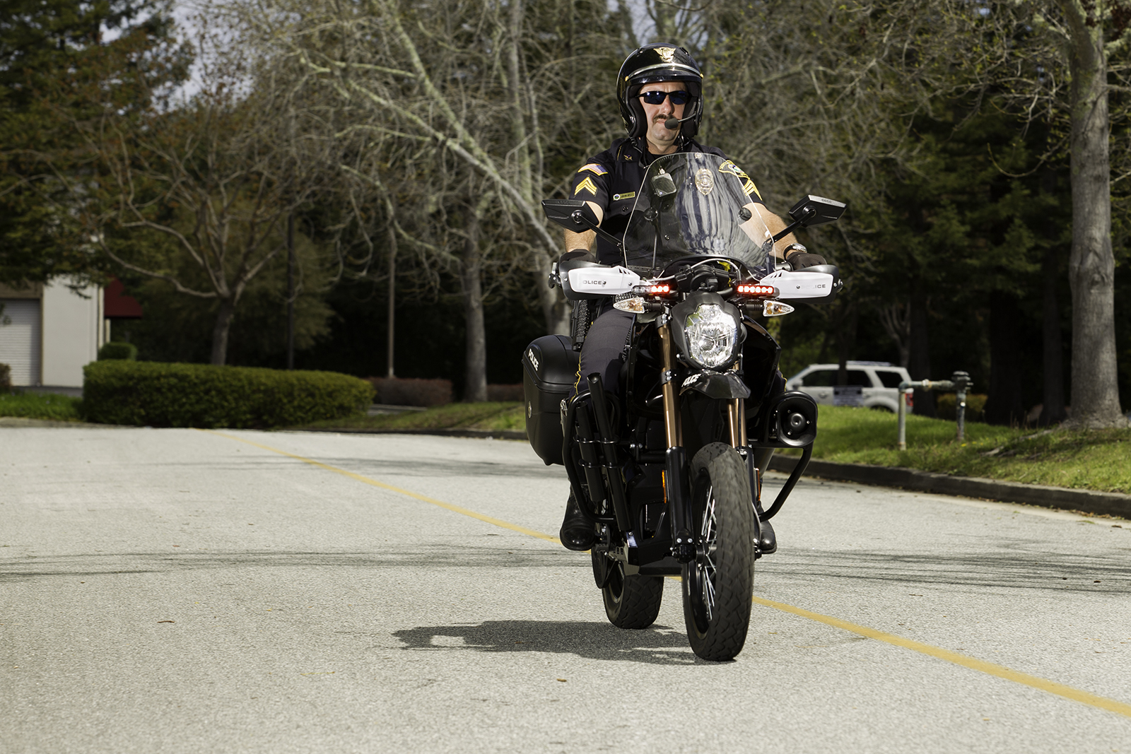 2012 Zero DS Police Motorcycles: Scotts Valley 3