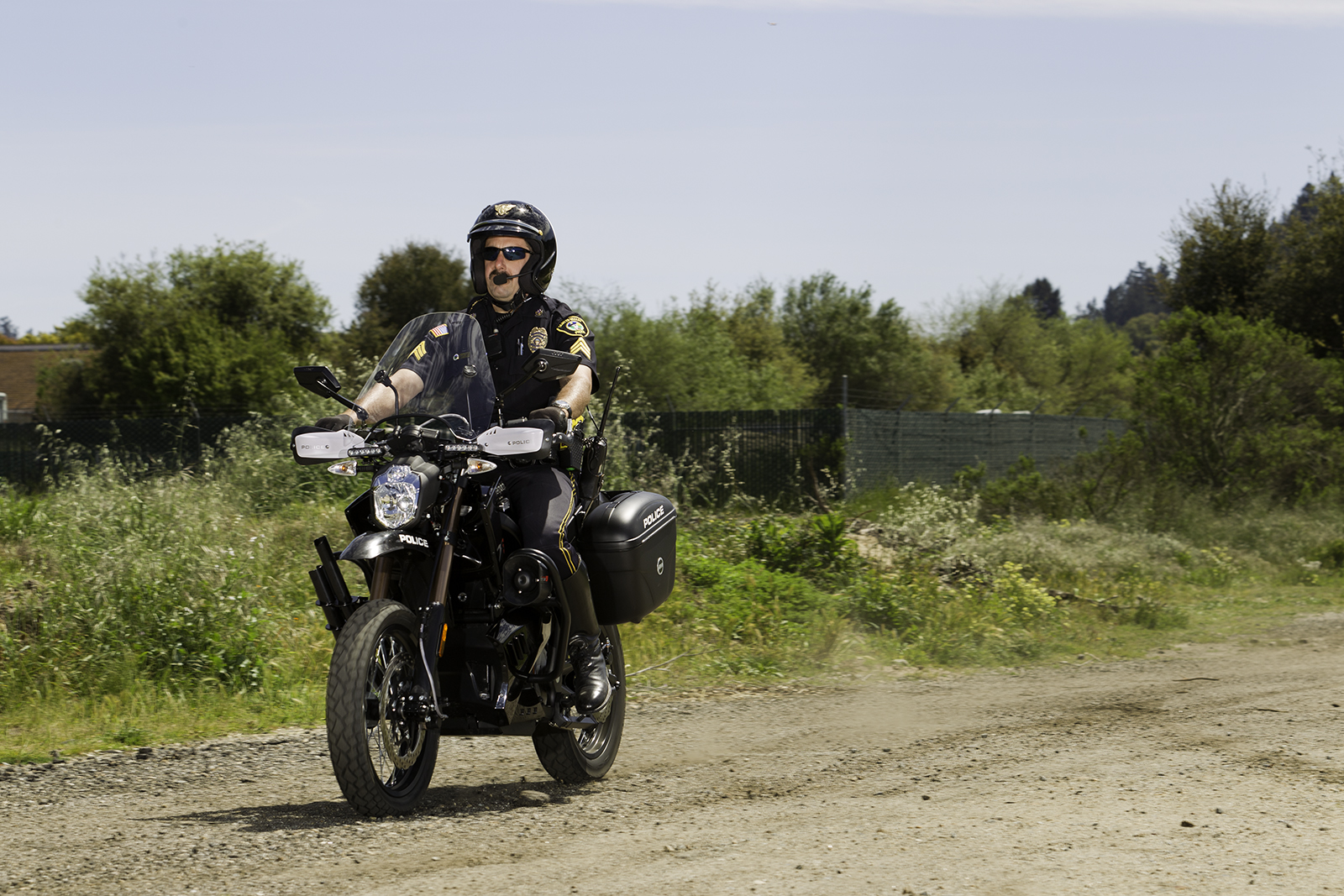 2012 Zero DS Police Motorcycles: Scotts Valley 4