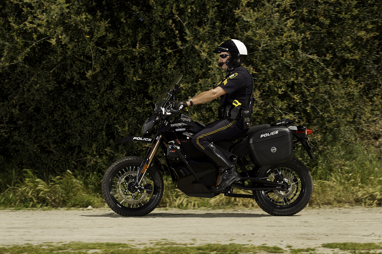 2012 Zero DS Police Motorcycles: Scotts Valley 5