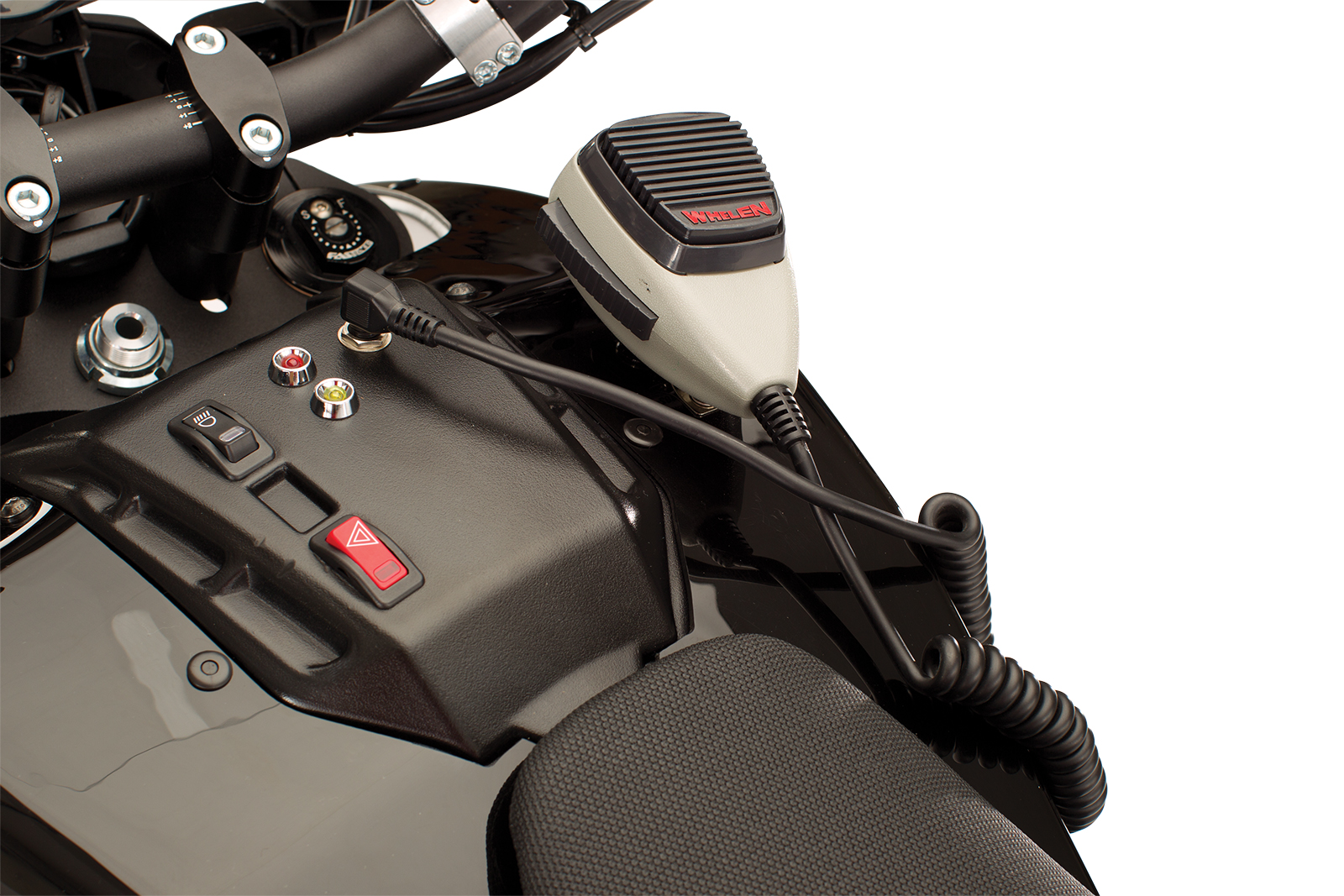 2012 Zero DS Police Motorcycles: Whelen LINZ 6 forward facing LED